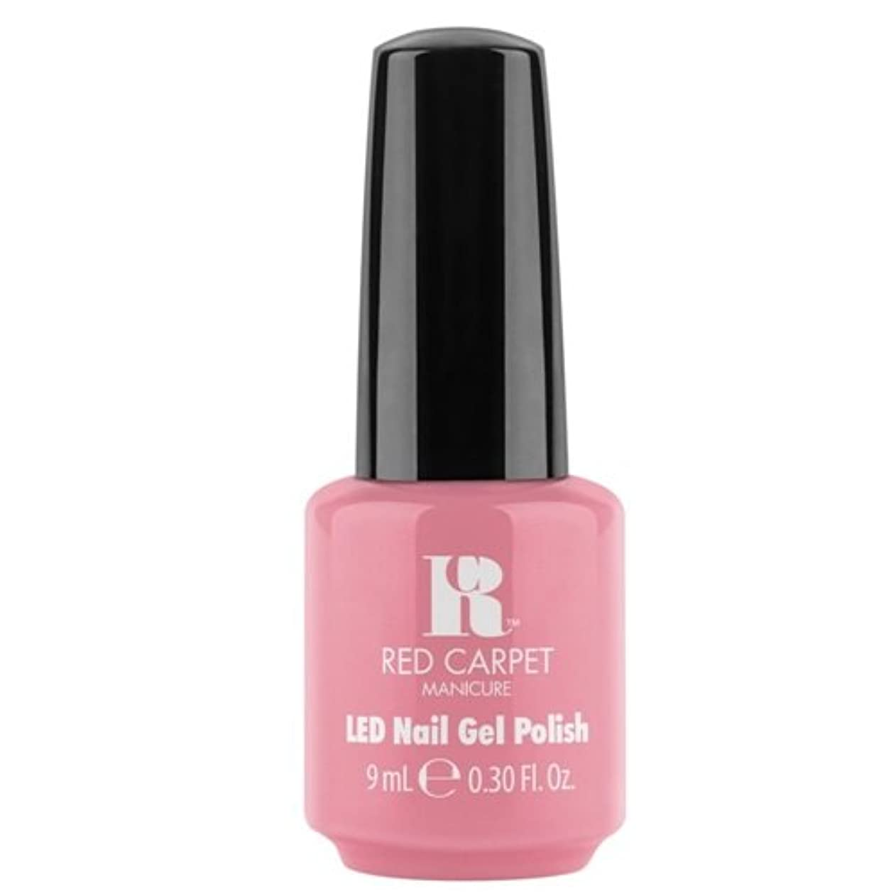 戦艦モジュールバースRed Carpet Manicure - LED Nail Gel Polish - Polished and Poised - 0.3oz / 9ml