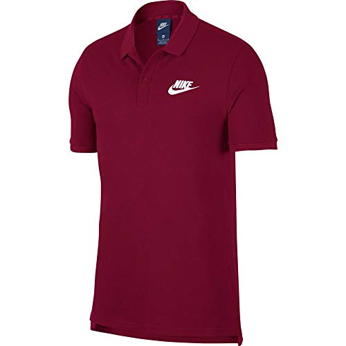 Nike Herren Sportswear Polo, Team Red/White, L