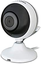 Night Owl Wireless 1080p Panoramic AC Powered Indoor Digital IP Camera with 30 ft. of Night Vision, 2-Way Audio, Motion Detection, Google Assistant Compatible and Remote Viewing Mobile App
