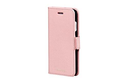 dbramante1928 Mii7Dupi5044 Schutzhülle aus Leder für iPhone 8/7/6, Dusty Pink