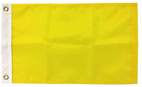 12X18 Quarantine Flag, 200 Denier All-Weather...