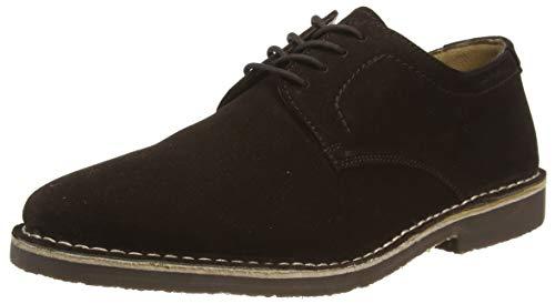 Hush Puppies Archie, Zapatos de Cordones Derby Hombre, Brown, 43.5 EU