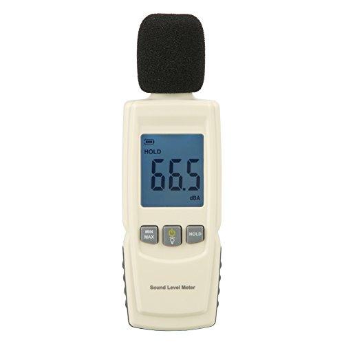 Dezibelmessgerät - GM1352 Tragbares digitales LCD-Schallpegelmessgerät Geräuschmessgerät von 30 dB bis 130 dB Dezibel