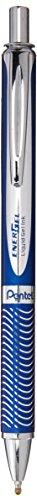 Pentel EnerGel RT Tintenroller, 0,7 mm, blauer Schaft, schwarze Tinte (BL407CA)