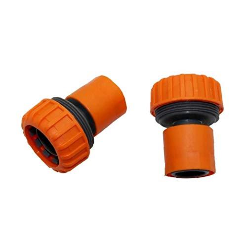 Angoter 1 PCS de 25 mm Conector de la Manguera de Lavado rápido 1 Pulgada Agua del Grifo Jardín de riego Conectores de Coches de riego Manguera del Adaptador de Acoplamiento