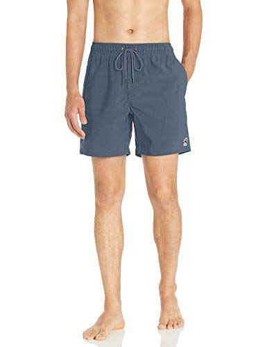 """RVCA Men Washer 17"""" Elastic Trunk Red XX-Large"""
