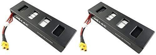 ZYGY 2pcs 7.4V 1800mAh LiPo Batería para MJX B3 B3H Bugs 3H Bugs 3 F17 F100 RC Drone Quadcopter Batería