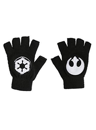 Star Wars Rebel Alliance/Galactic Empire Fingerlose Handschuhe