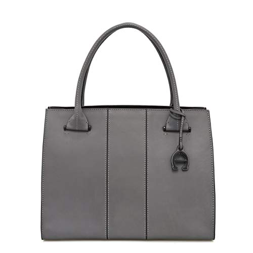 Discover Bargain Etienne Aigner Chiara Leather Work Tote In Sale