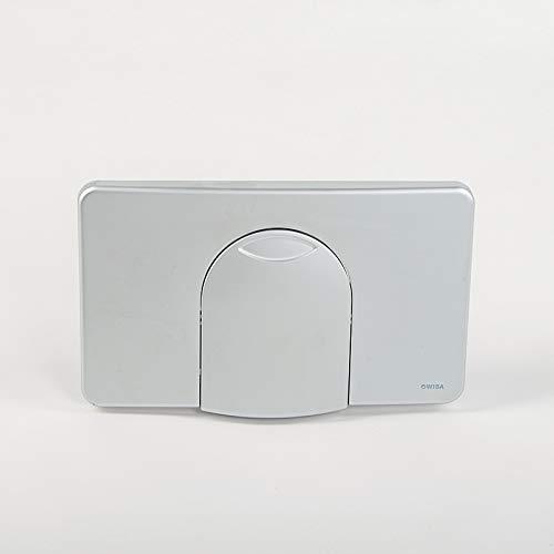 WISA | 2100 SU Matt Chrome Betätigung Bedienplatte Drückerplatte Toilette Spülung