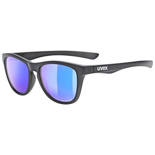 uvex Unisex– Erwachsene, lgl 48 CV Sonnenbrille, anthracite mat/mirror plasma, one size