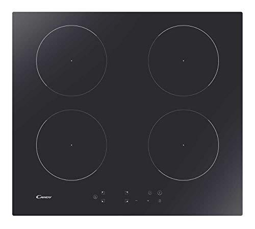 Candy CITT642C Plan de cuisson à induction, céramique, noir