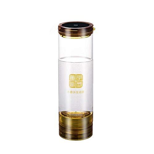 Filterflaschen SCH H2-Wasserstoffgenerator und Sauerstoff-Trennmembran H2-reicher Wasserstoff-Wasserflaschen-Elektrolyse-Ionisator-Generator