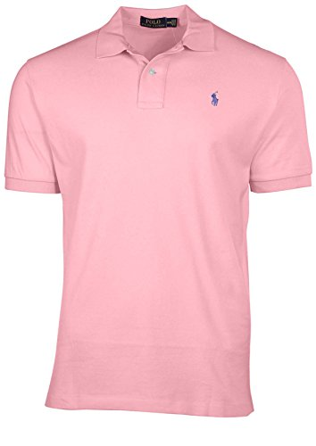 Ralph Lauren Herren Poloshirt Custom Fit Stretch Kurzarm L