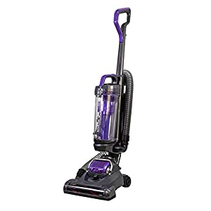 Russell Hobbs RHUV5601 ATHENA2 Pet Upright Vacuum in Grey and Purple – Pet Turbo Tool – 9 m Cleaning Radius – 2 Year Guarantee