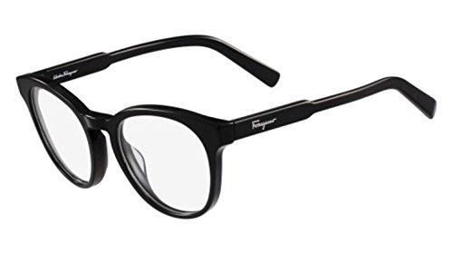 Ferragamo SF2762 Wayfarer Brillengestelle 51, Schwarz