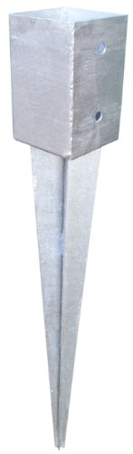 10 Stück Einschlag-Bodenhülsen 71x71x900mm