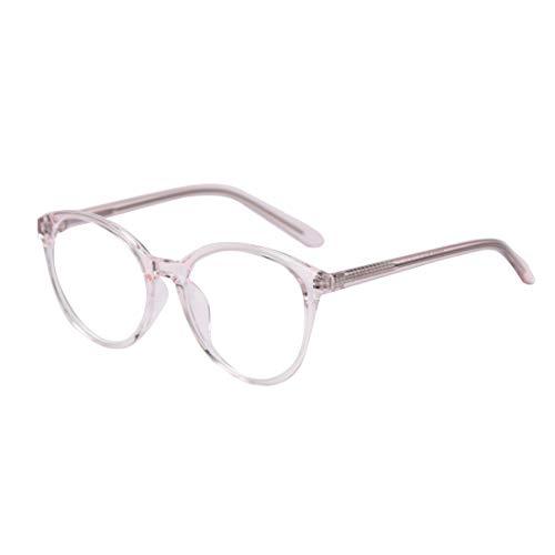 MU CHAOHAI Unisex Blauw Licht Blokkerende bril Vintage Ronde Tablet lezen/Gaming/Telefoons bril