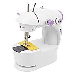 HB Mall India Multi Electric Mini 4 in 1 Desktop Functional Household Sewing Machine for Home