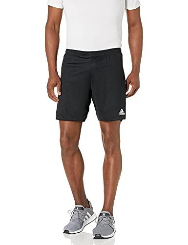 adidas Men's Standard Parma 16 Shorts, Black/White, Medium
