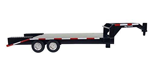 Big Country Flatbed Trailer - 1:20 Scale - Gooseneck Trailer - Toy Trailer - Farm Toys