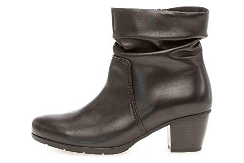 Gabor Basic laarzen in grote maten zwart 35.522.27 grote damesschoenen