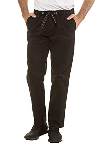 JP 1880 Herren große Größen Übergrößen Menswear L-8XL Hose, Elastikbund, Straight Fit, bis Gr. 10XL schwarz 6XL 720251 10-6XL