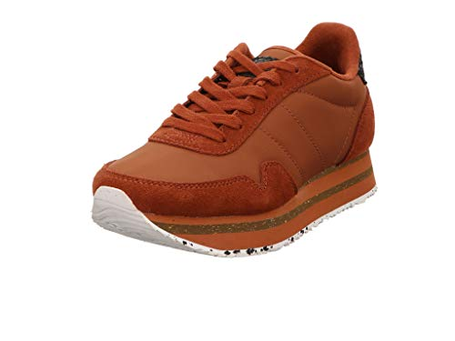 Woden Sneakers Nora III Plateau 40, 004 Rust