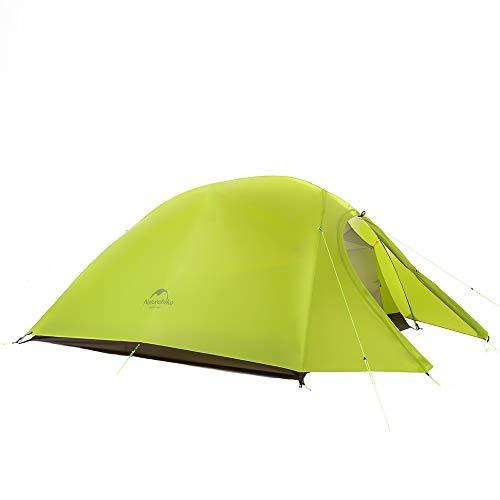 Naturehike Cloud-up Ultra-léger Tente 2 Personnes 210t Lattice Chiffon Double Couche imperméable...