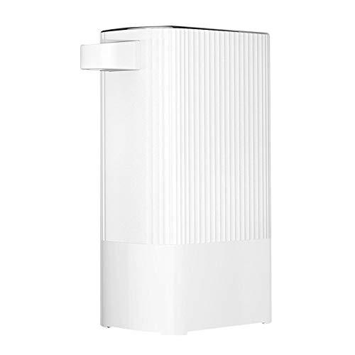Bewinch Mini dispensador de Agua instantáneo, máquina de Agua Caliente de Bolsillo, portátil con ebullición rápida, termostato Ajustable, dispensador de Agua portátil para el hogar,Blanco