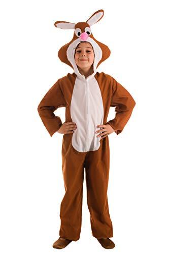 El Rey del Carnaval Disfraz de Conejo Marrón para niños