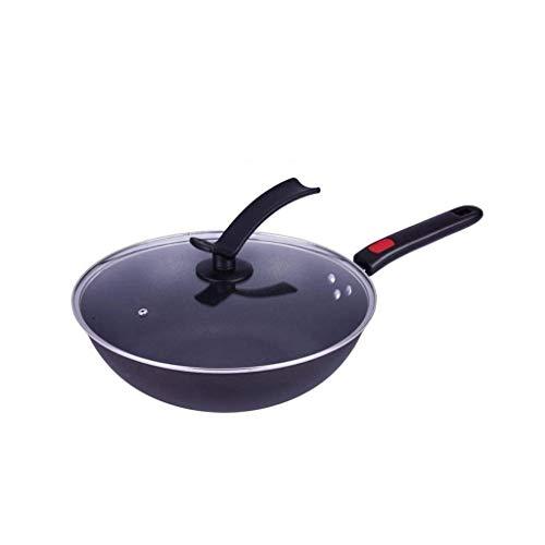 YWSZJ Iron Wok, légère martelée à la main de fer et Woks Sauté poêles, cuisinière à induction Cuisinière à gaz