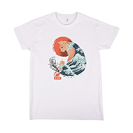 Camiseta Spirit Animal Cat - Gato - Japon - 100% Algodón - Serigrafía