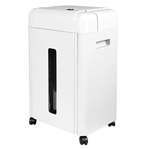 New Shredder Confidential Data Home Office Large Commercial 2 9mm Granular (Color : White, Size : 35...