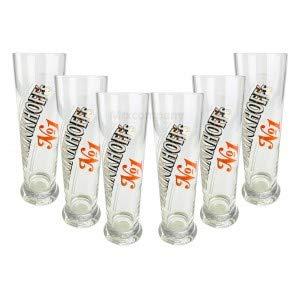 Brinkhoffs No1 Glas Set - 6X Gläser 0,3l geeicht selten Bar Bier Biergläser
