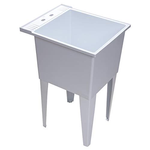 "PROFLO PFLT2024 PROFLO PFLT2024 20"" Single Compartment Floor Mounted Laundry Sink"