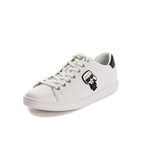 Karl Lagerfeld Damen k/ikonik kupsole Sneaker Bianco 39 EU