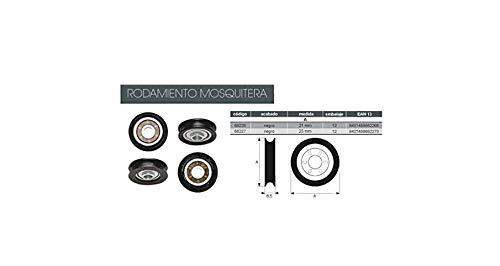 RUEDA MOSQUITERA 24 MM BLISTER 4