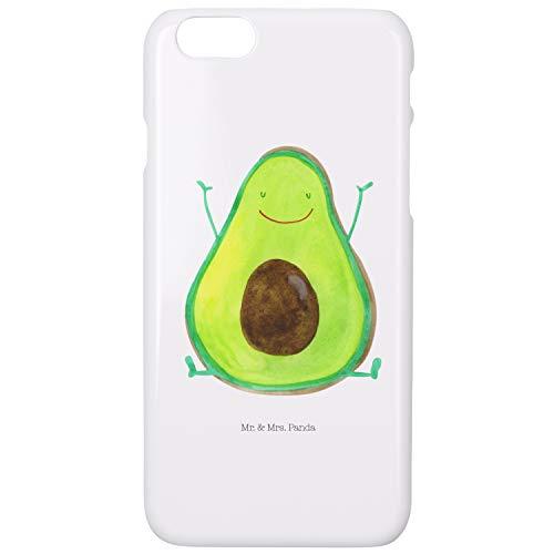 Mr. & Mrs. Panda Iphone 6s, Iphone 6, Iphone 6 / 6S Funda para teléfono móvil Avocado Feliz - Color Blanco