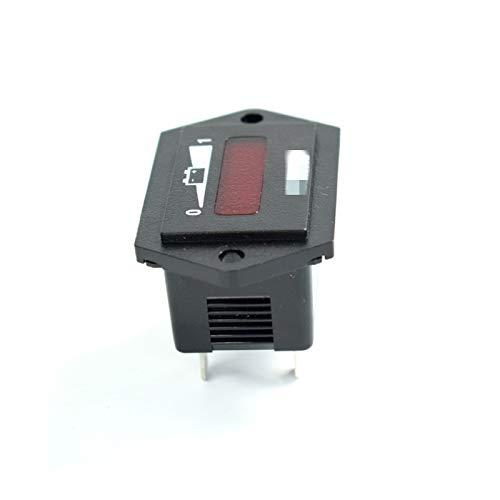 SSGLOVELIN Ajuste para Curtis 48V Medidor de Capacidad de batería Carga de batería Indicador de Descarga Ajuste para Carretilla elevadora eléctrica Camión de Golf Carrito de Golf Coche Scooter