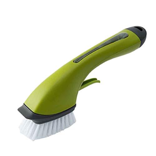 SCYMX Limpieza Cepillo Mango Largo Fregadero PP Cepillo Accesorios de Cocina Suministros de Limpieza Lavavajillas Cepillo Cepillo de Cocina