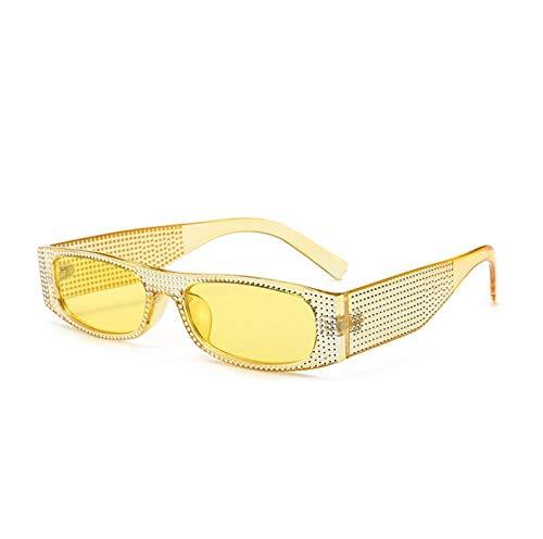 ZZZXX Funda Gafas De SolGafas De Sol De Moda De Diamantes De Imitación Correr, Andar En Bicicleta,Protección Uv400, Varios Colores Disponibles,Con Caja De Regalo Y Paño Para Vasos