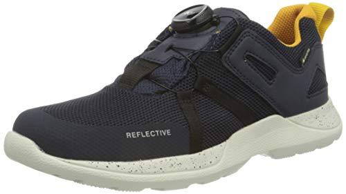 Superfit Jungen RUSH Sneaker, BLAU/GELB 8000, 41 EU