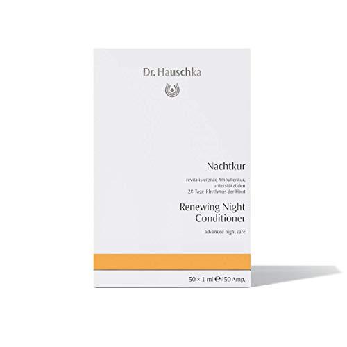 Dr. Hauschka Nachtkur 50 x 1 ml revitalisierende Ampullenkur unterstützt den 28-Tage-Rhythmus der Haut