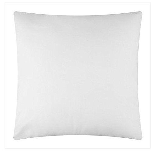 Zen - Cojín Cuadrado (40 x 40 cm), Color Blanco