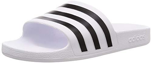 adidas Adilette Aqua, Slide Sandal Unisex Adulto, Footwear White/Core Black/Footwear White, 37 EU
