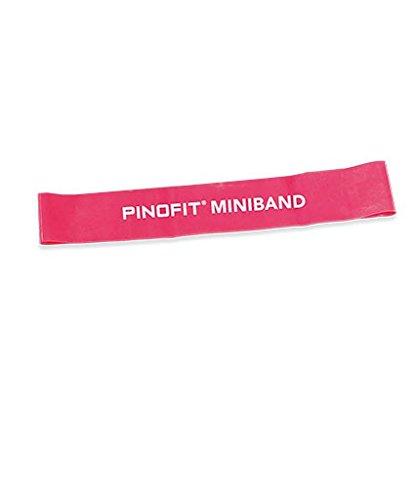PINOFIT Miniband 44651 ROT breit 33 x 5 cm incl. Gratis Bienenwachs-lederbalsam 50ml