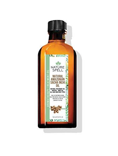 Nature Spell Sacha Inchi - Aceite de tratamiento para cabello y cuerpo, 150 ml