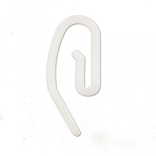 5 Pack Sourcing map Crochets /à rideaux en m/étal /à pince pliss/ée pour rideaux Argent/é