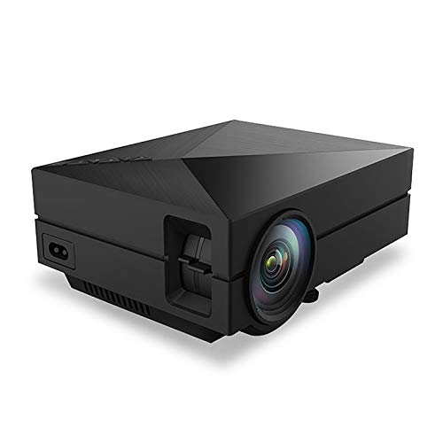 Ofgcfbvxd Support HD El proyector casero YG270 Mini Mini 1080P HD LED Proyector with Projection Function (Color : Black, Size : One Size)